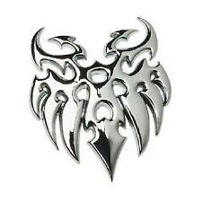 Tribal Chrome Badge Car Emblem Eagle Brand Self Adhesive NEW