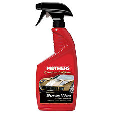 Mothers California Gold SPRAY WAX Cleans Protects Long-Lasting Shine EASY TO USE