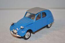 Norev 56 Citroen 2CV 2 CV az LUXE blue plastique perfect mint