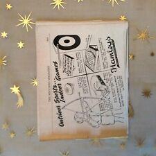g1k ephemera vintage advert hamleys toys juvenile archery solitair