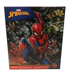 Marvel Spider-Man Prime 3-D Puzzle 300pc Ages 5+