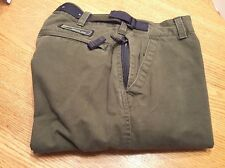 Wearfirst  28/28 Olive Green hiking camping cargo pants tactical travel Youth 18