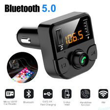 Car Bluetooth FM Transmitter Radio MP3 Wireless Adapter Stereo Car 2 USB Charger