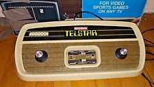 1976 Vintage Coleco Telstar Model 6040 Hockey Tennis Video Game Console Pong