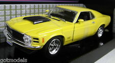 Motormax 1/24 Scale 1970 Ford Mustang Boss 429 Red Diecast Model Car