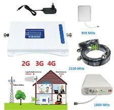 KIT RIPETITORE AMPLIFICATORE BOOSTER SEGNALE CELLULARE BANDA B1 GSM 2G 3G 4G LTE
