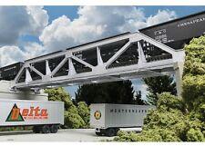 Walthers 933-4030 Cornerstone HO Scale Lasercut Single-Track Pony Truss Bridge