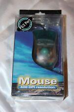 Mouse 400 DPI di risoluzione compatibile ibmpc, 386/486/Pentium, PS/2 e successive