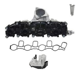 Ansaugkrümmer & Stellmotor für Audi A3 8P A4 B8 A6 C6 Q5 VW Passat 3C B7 2.0 TDI