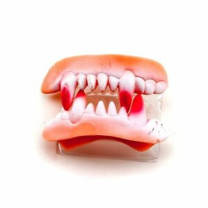 4 pks Vampire Teeth Fangs Halloween Cosplay Costume Accessory Party Favor 8pcs