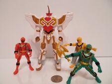Power Rangers Mystic Force Steedergon Fury Megazord Adventure set 2005 Bandai !