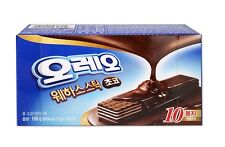 [Oreo] Wafer Sticks Chocolate 15g X 10 sticks (5.3Oz) Korea Version Cookies Bar