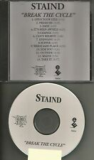 Aaron Lewis STAIND Break The Cycle ADVNCE TST PRESS PROMO DJ CD USA 2001