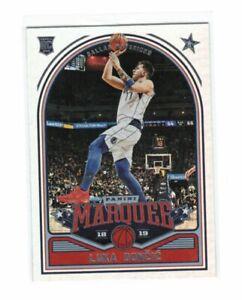NBA Luka Doncic Rookie Card - Panini Marquee 2018/19