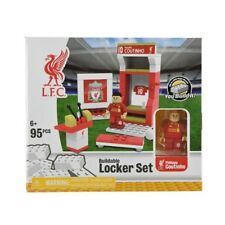 New LFC Liverpool PHILIPPE COUTINHO Buildable Lego Soccer Locker Set 95 Pieces