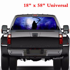 """18"""" x 58"""" Tint Eye-catching Sticker Rear Window Graphic Decal For Car Truck SUV"""