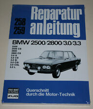 Reparaturanleitung BMW E3 / E9 2500 / 2800 / 3.0 / 3.3 S CS Si CSi CSL L