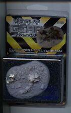 Heavy Gear Blitz Destroyed Hunter Diorama Pack MINT