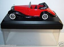 SOLIDO MERCEDES 540 K ROUGE 1939 CABRIOLET OUVERT REF 4086 1/43 IN BOX