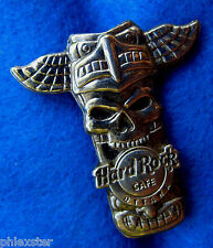 OTTAWA CANADA BIRD WING INDIAN TOTEM POLE SILVER SKULL SERIES Hard Rock Cafe PIN