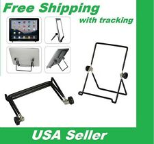 "New iPad Galaxy Portable Foldable Adjustable Stand Holder for 6"" 7"" 10"" Tablet"