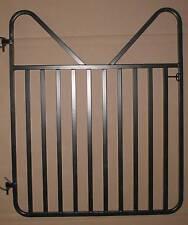 "Standard Medium 48"" x 48"" Horse Stall Gate - Black"