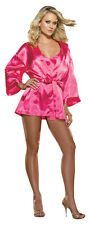 Stunning Babydoll Robe Hanger Intimates Valentines Day Fashion Lingerie 3X/4X