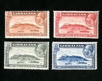 Gibraltar Stamps # 96-9 VF OG NH