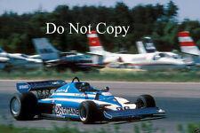 Jacques Laffite Ligier JS7 Swedish GP 1977 photographie