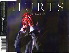 """HURTS """"MIRACLE"""" ULTRA RARE CD SINGLE / SYNTH POP - HUTCHCRAFT - ADAM ANDERSON"""