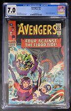 Avengers #27 CGC 7.0  4/66 2109844017 - Attuma & Beetle appearance