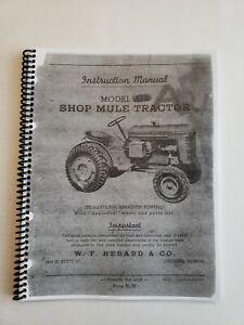W F Hebard Shop Mule Instruction and Parts Manual (Copy)
