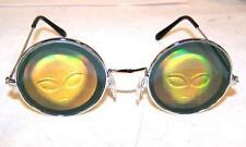 BUY 1 GET 1 FREE - HOLOGRAPHIC ALIEN HEAD SUNGLASSES hologram 3d glasses ufo