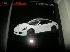 1:18 Schuco Porsche 911 GTS Cabrio white/weiss Nr. 450039500 in OVP