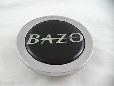 Bazo Wheels Chrome / Black Custom Wheel Center Cap # C122701-CAP (1 CAP)