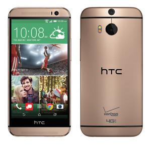 HTC One (M8) | HTC6525LVW |  32GB Amber Gold | Verizon