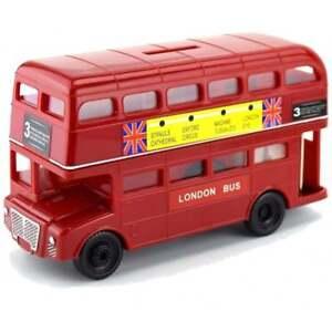 Large London Red Bus Money Box
