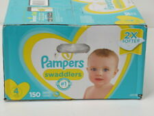 Diapers Size 4, 150 Count - Pampers Swaddlers Disposable Baby Diapers