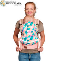 Kinderkraft Nino Baby Carrier - Pink - Ergonomic Carrier / Sling 100% Cotton