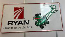 RANSOMES RYAN TURF EQUIPMENT ADVERTISING SIGN 36X18 GARAGE OR MAN CAVE DECOR