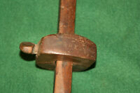 Primitive 19th C Woodworking Carpenters Mortise Marking Gauge Scribe Inv#A01