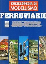 ENCICLOPEDIA DI MODELLISMO FERROVIARIO De agostini vol.1-2-3 e 6