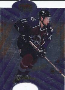 Peter Forsberg 1998-99 Bowmans Best Fusion Die-Cut Card F6