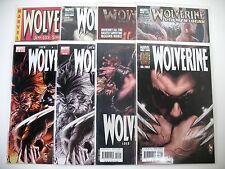 Wolverine - #51, 51BW + 52 + 55A, 55B, 55BW + 66A Old Man Logan (1st) + 71 - 9.4