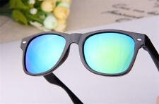Fashion Vintage Retro Men Women Round Frame Sunglasses Glasses Eyewear