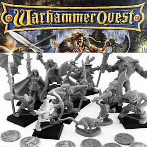WARHAMMER QUEST Spare Replacement Miniatures Figures Games Workshop 1995 CHOOSE