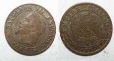 1 centime cuivre Napoleon 3 1862 K ( 001 )