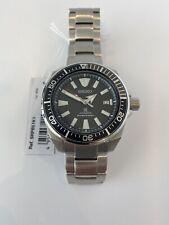 Seiko Prospex Samurai Automatic Bracelet Strap Watch Silver/Black SRPB51K1