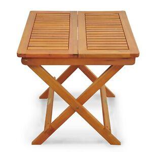 Balkontisch Beistelltisch Terassentisch Gartentisch Klapptisch Gartenmöbel Holz