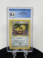Pokemon Pidgeot CGC 8.5 NM-Mint Base Set 2 14/130 Holo Rare Swirl WOTC Like PSA